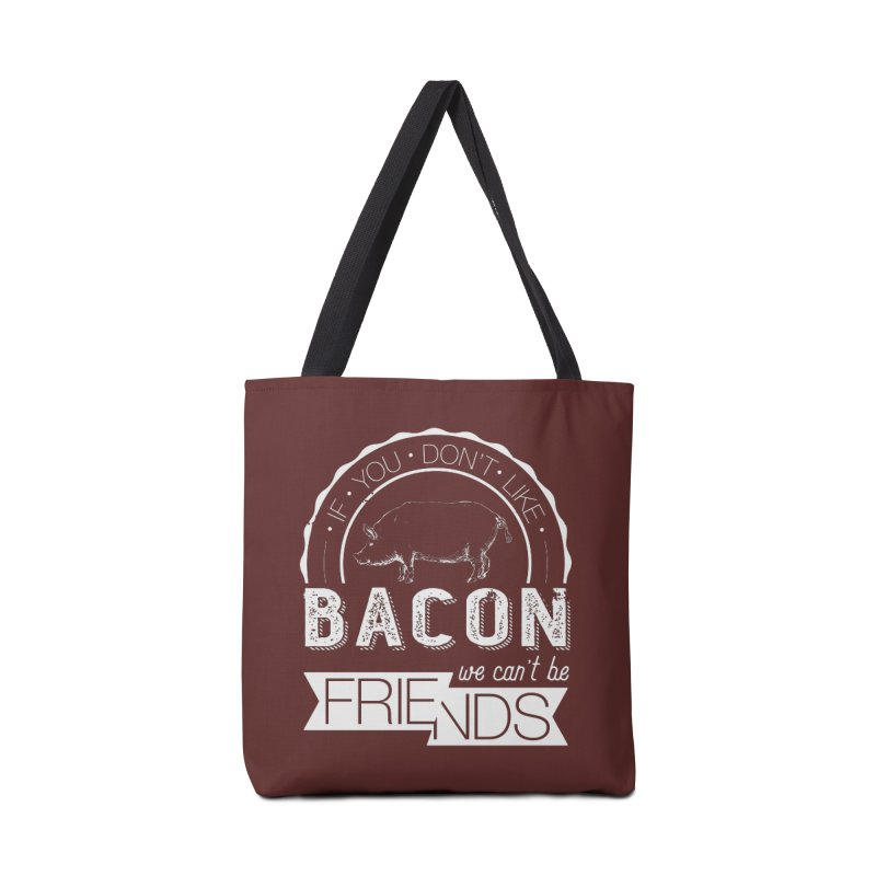 Bacon Friends Accessories Tote Bag Bag by Christi Kennedy