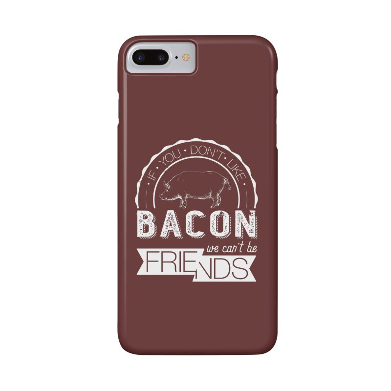 Bacon Friends Accessories Phone Case by Christi Kennedy