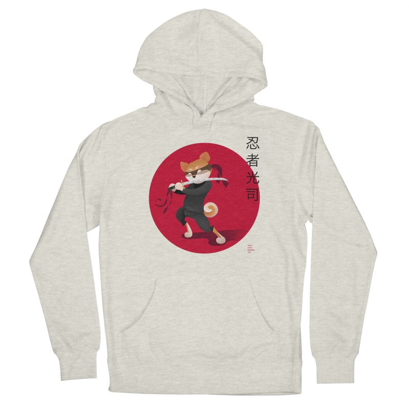 A Ninja Named Koji Men's French Terry Pullover Hoody by Christi Kennedy