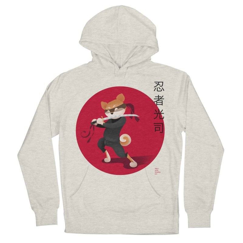 A Ninja Named Koji Women's French Terry Pullover Hoody by Christi Kennedy