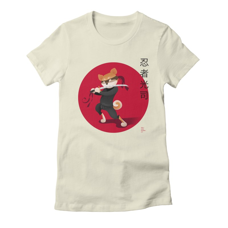 A Ninja Named Koji Women's T-Shirt by Christi Kennedy