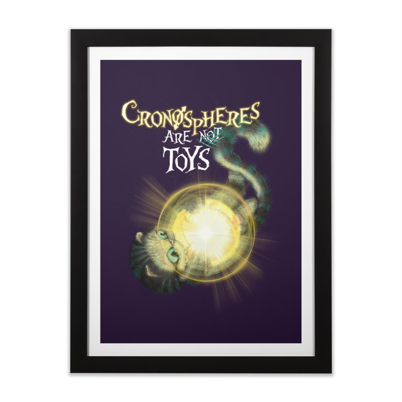 Chronospheres are (not) Toys Home Framed Fine Art Print by Christi Kennedy