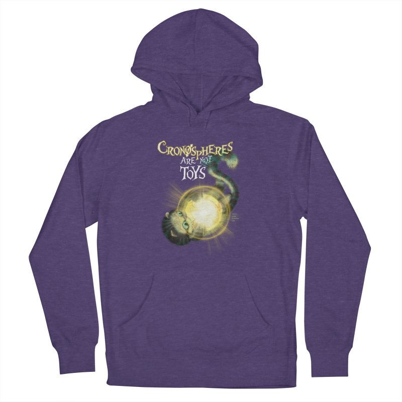 Chronospheres are (not) Toys Men's French Terry Pullover Hoody by Christi Kennedy