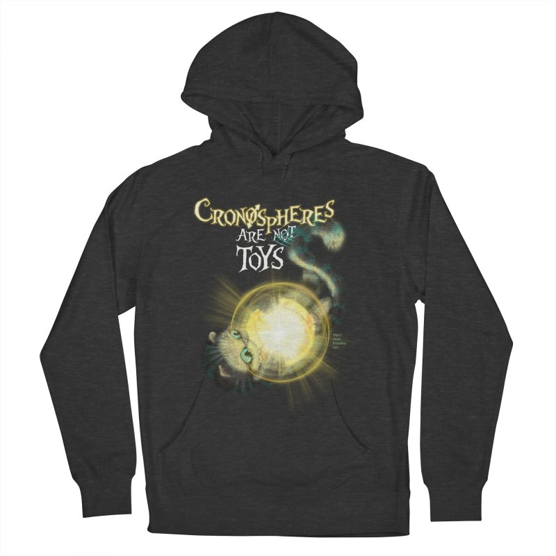 Chronospheres are (not) Toys Women's French Terry Pullover Hoody by Christi Kennedy
