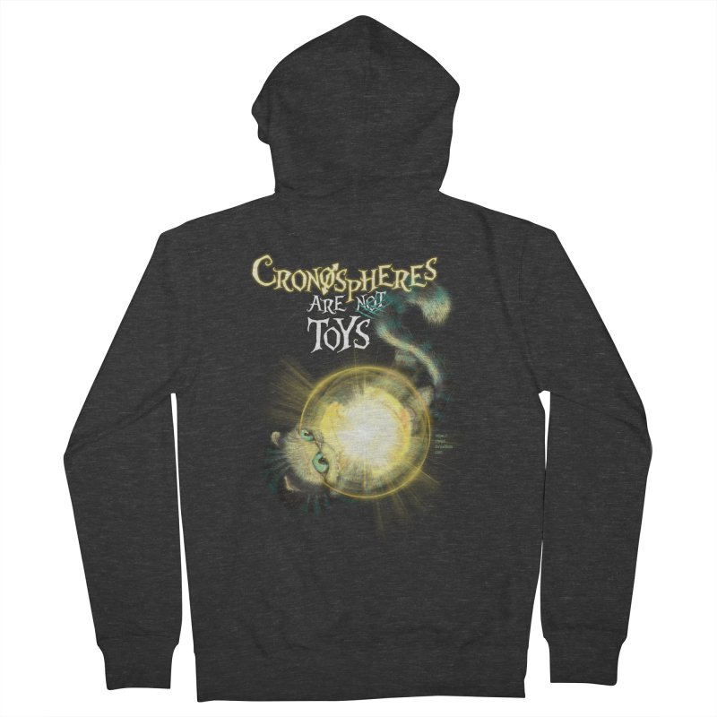 Chronospheres are (not) Toys Women's Zip-Up Hoody by Christi Kennedy