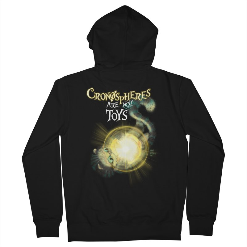 Chronospheres are (not) Toys Women's French Terry Zip-Up Hoody by Christi Kennedy