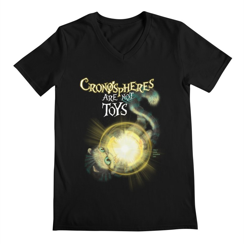Chronospheres are (not) Toys Men's Regular V-Neck by Christi Kennedy