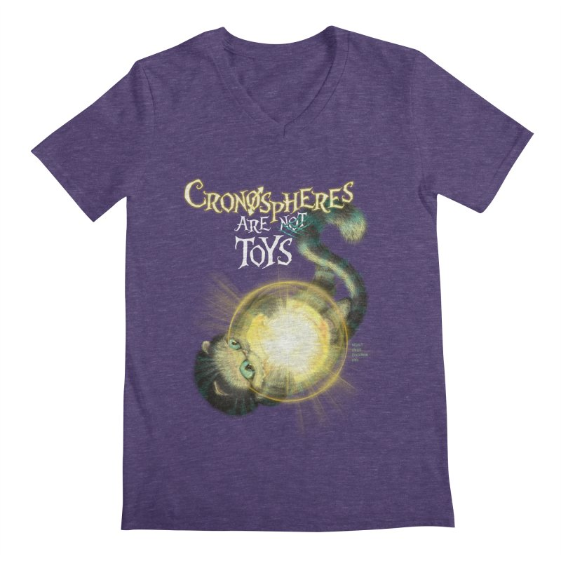 Chronospheres are (not) Toys Men's V-Neck by Christi Kennedy