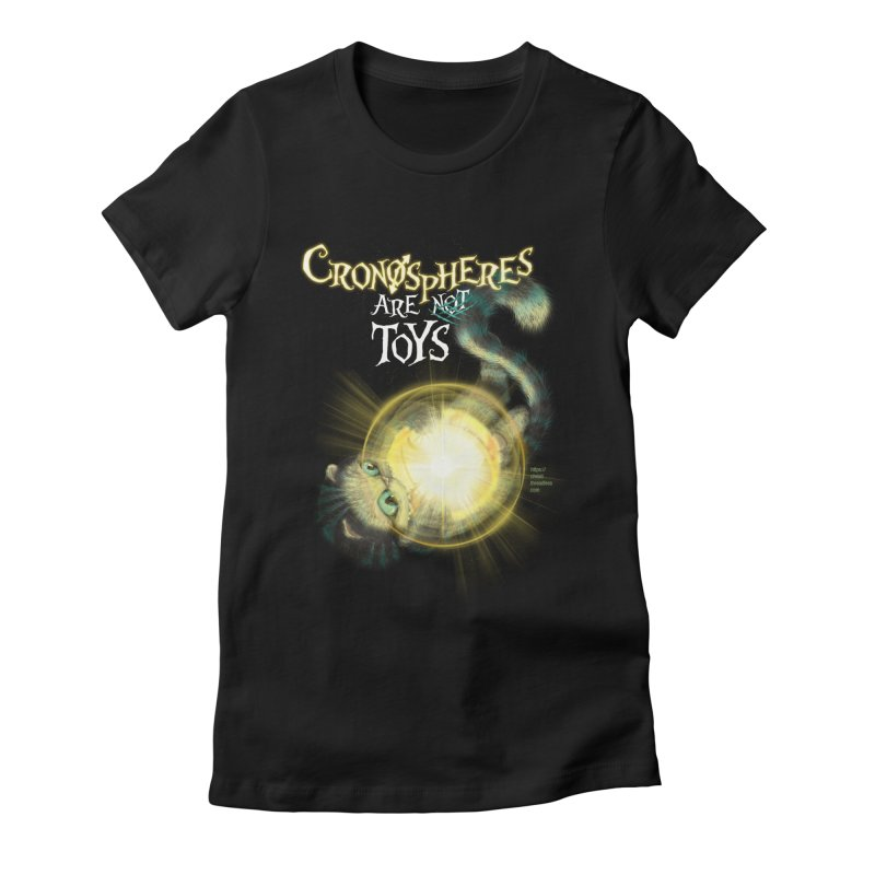 Chronospheres are (not) Toys Women's Fitted T-Shirt by Christi Kennedy