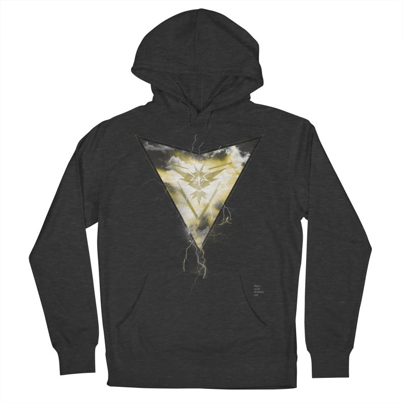 Team Instinct Men's French Terry Pullover Hoody by Christi Kennedy
