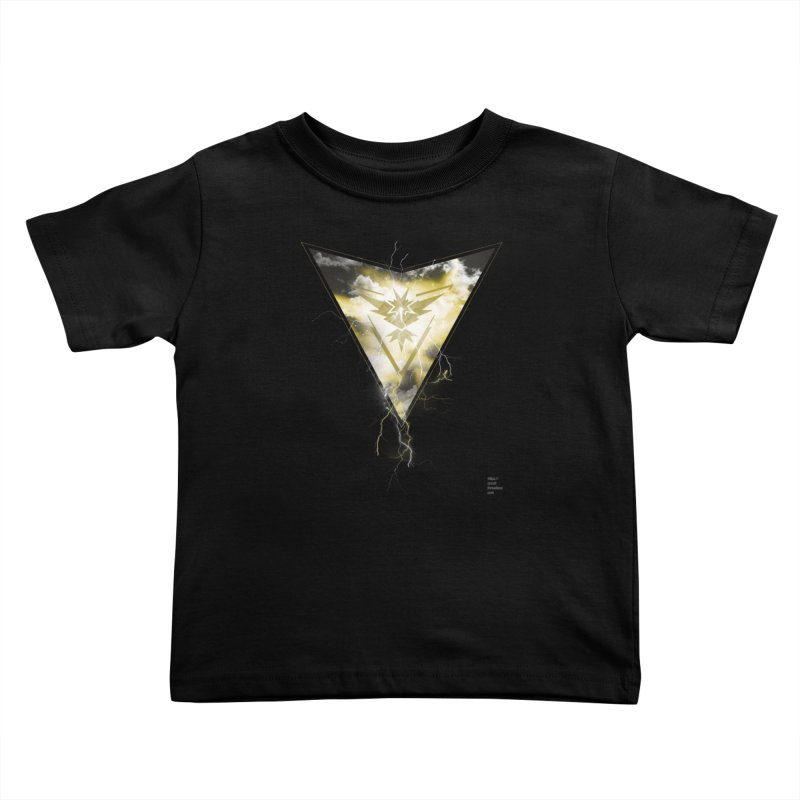 Team Instinct Kids Toddler T-Shirt by Christi Kennedy