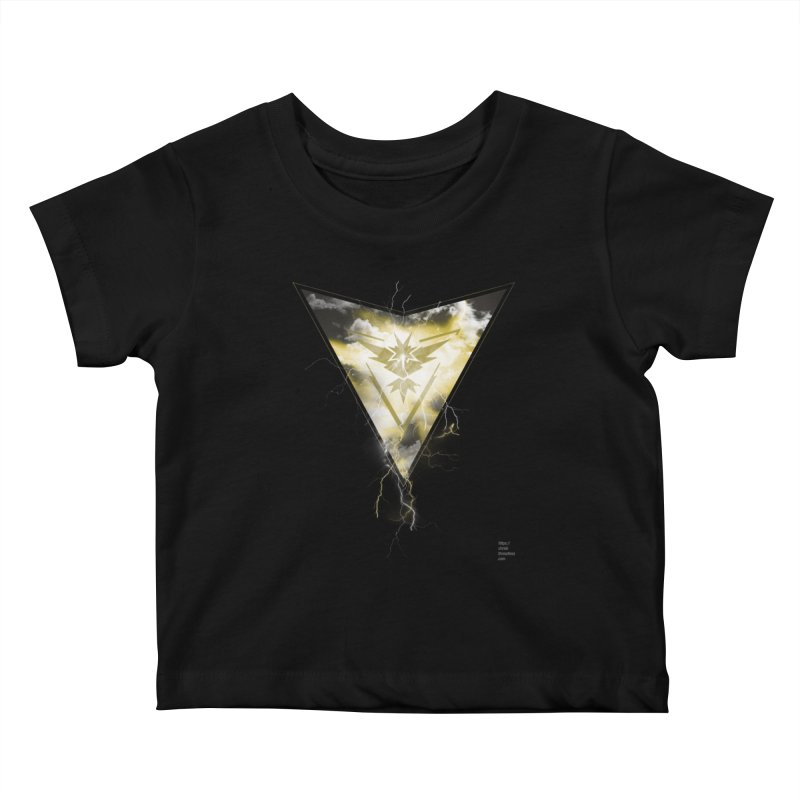 Team Instinct Kids Baby T-Shirt by Christi Kennedy
