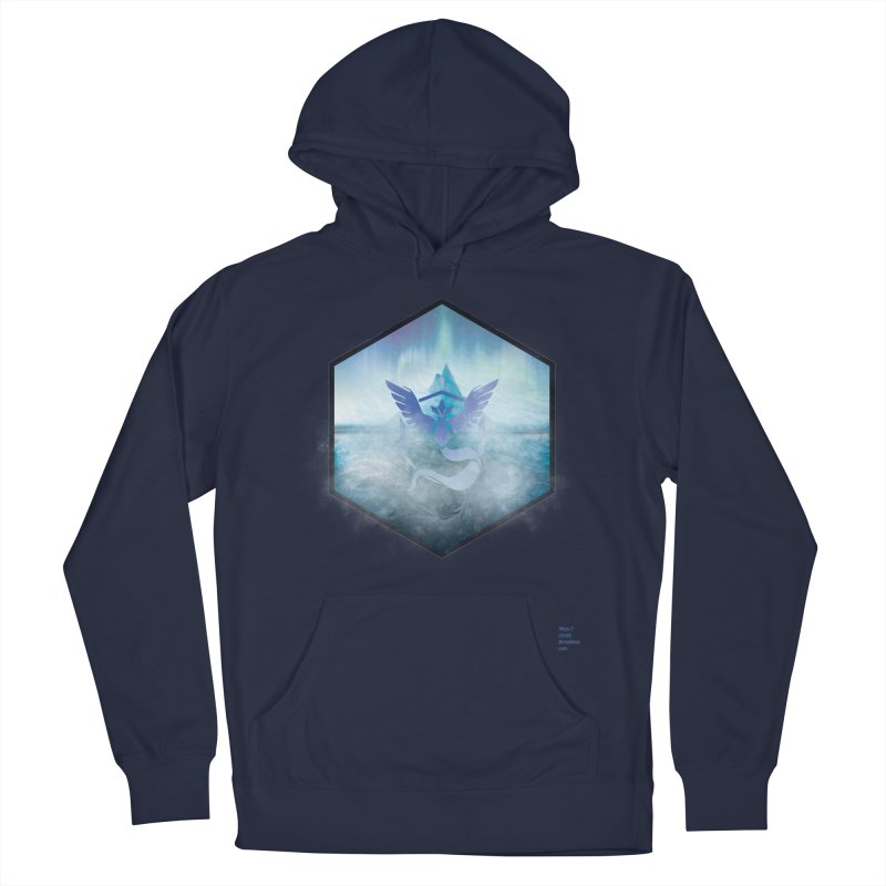 Team Mystic Women's French Terry Pullover Hoody by Christi Kennedy