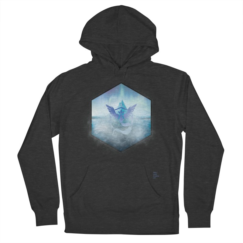 Team Mystic Men's French Terry Pullover Hoody by Christi Kennedy