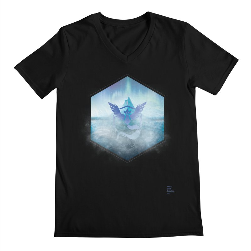 Team Mystic Men's V-Neck by Christi Kennedy