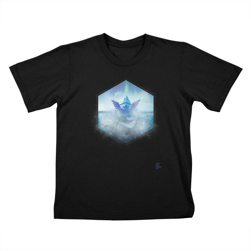 Team Mystic Kids T-Shirt by Christi Kennedy