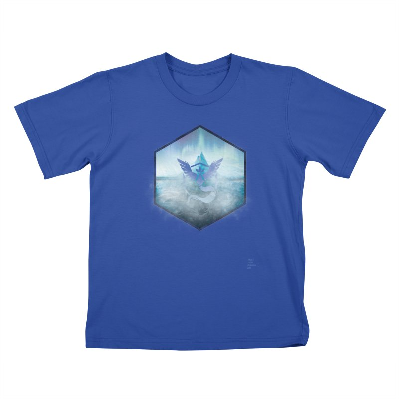 Team Mystic Kids T-shirt by Christi Kennedy