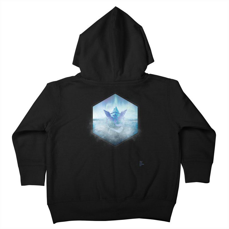 Team Mystic Kids Toddler Zip-Up Hoody by Christi Kennedy