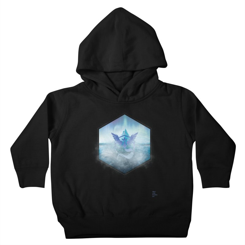 Team Mystic Kids Toddler Pullover Hoody by Christi Kennedy