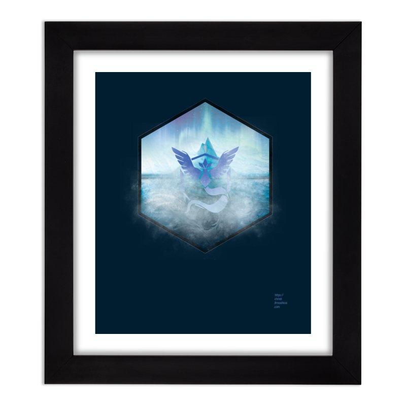 Team Mystic Home Framed Fine Art Print by Christi Kennedy