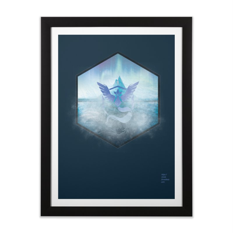Team Mystic Home Framed Fine Art Print by Christi Kennedy