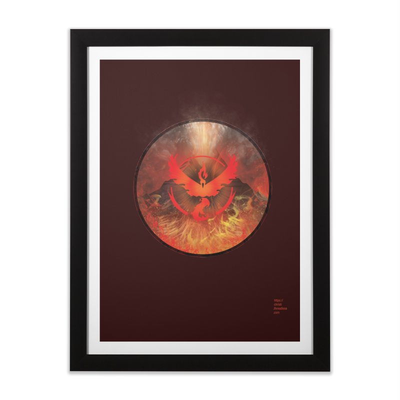 Team Valor Home Framed Fine Art Print by Christi Kennedy