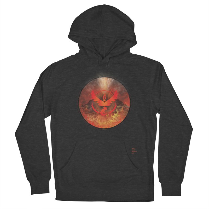 Team Valor Men's Pullover Hoody by Christi Kennedy