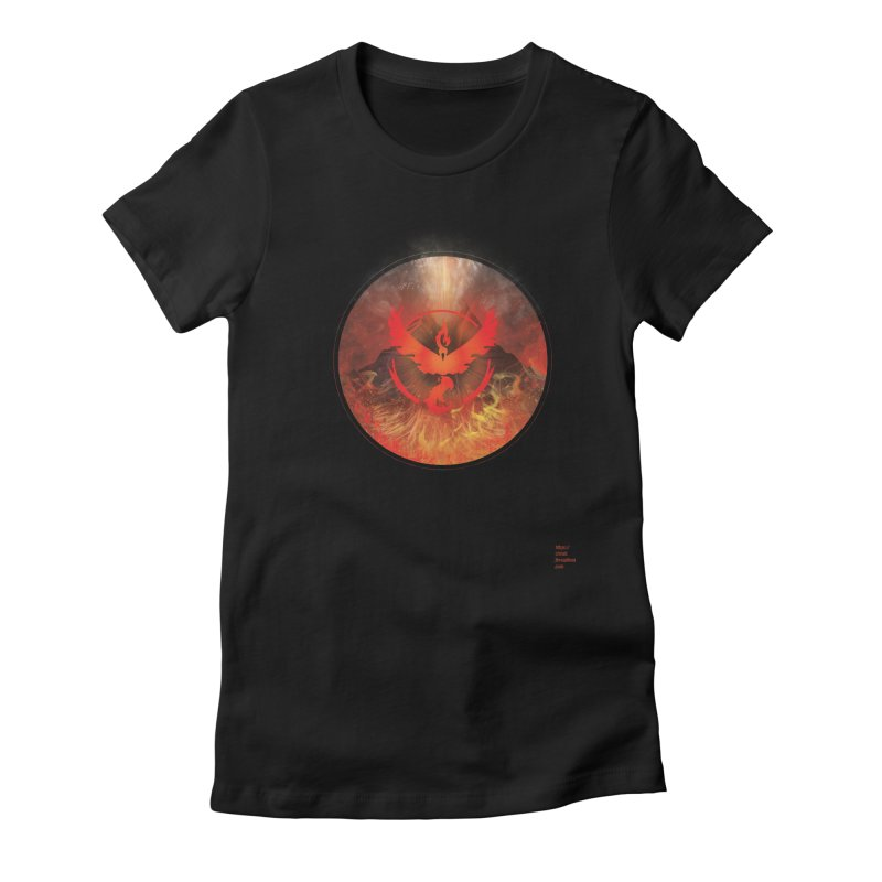 Team Valor Women's Fitted T-Shirt by Christi Kennedy