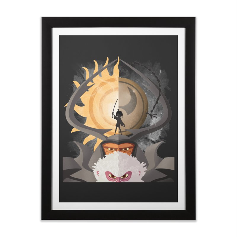 Kubo and The Quest Home Framed Fine Art Print by Christi Kennedy