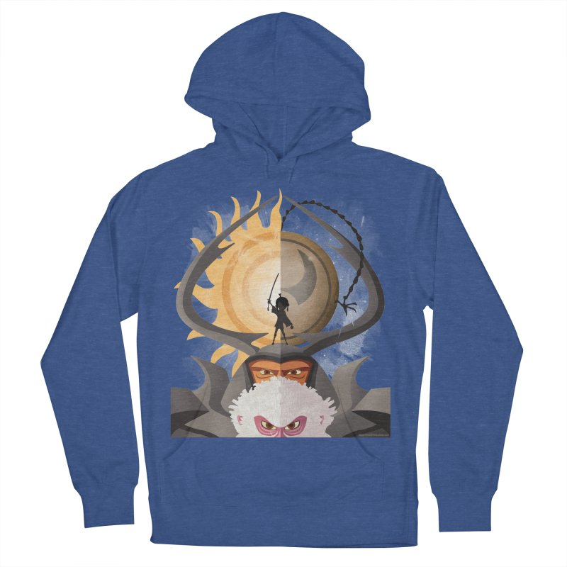 Kubo and The Quest Women's French Terry Pullover Hoody by Christi Kennedy