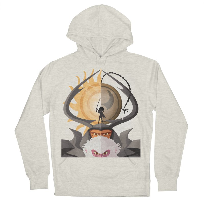 Kubo and The Quest Men's French Terry Pullover Hoody by Christi Kennedy
