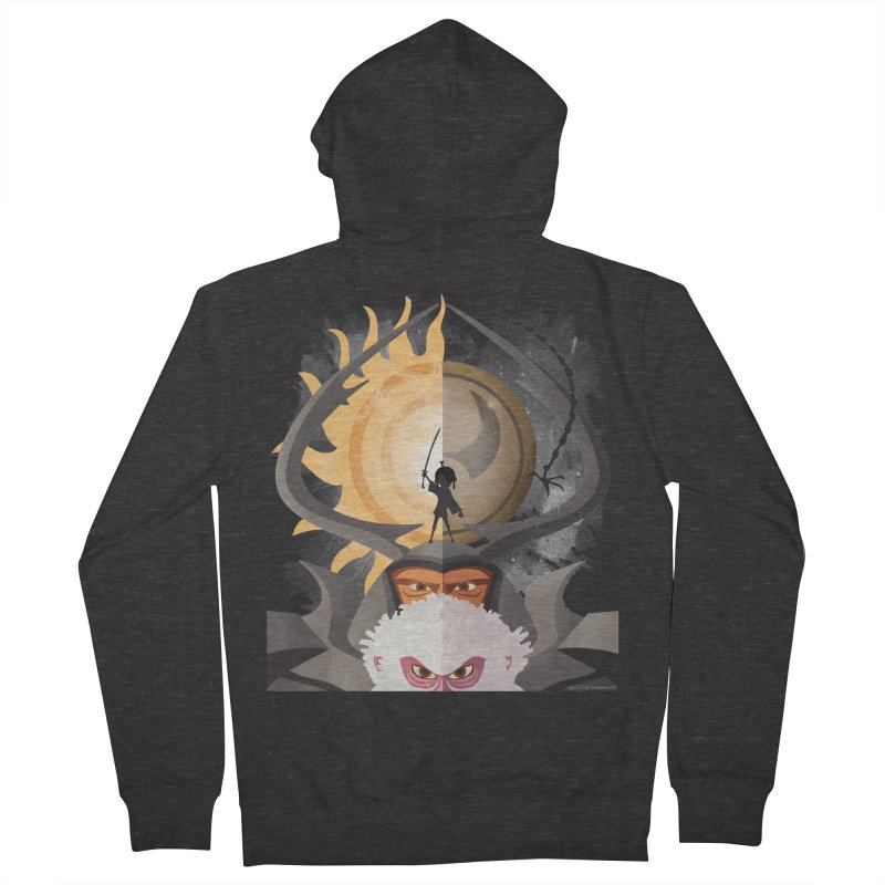 Kubo and The Quest Men's Zip-Up Hoody by Christi Kennedy