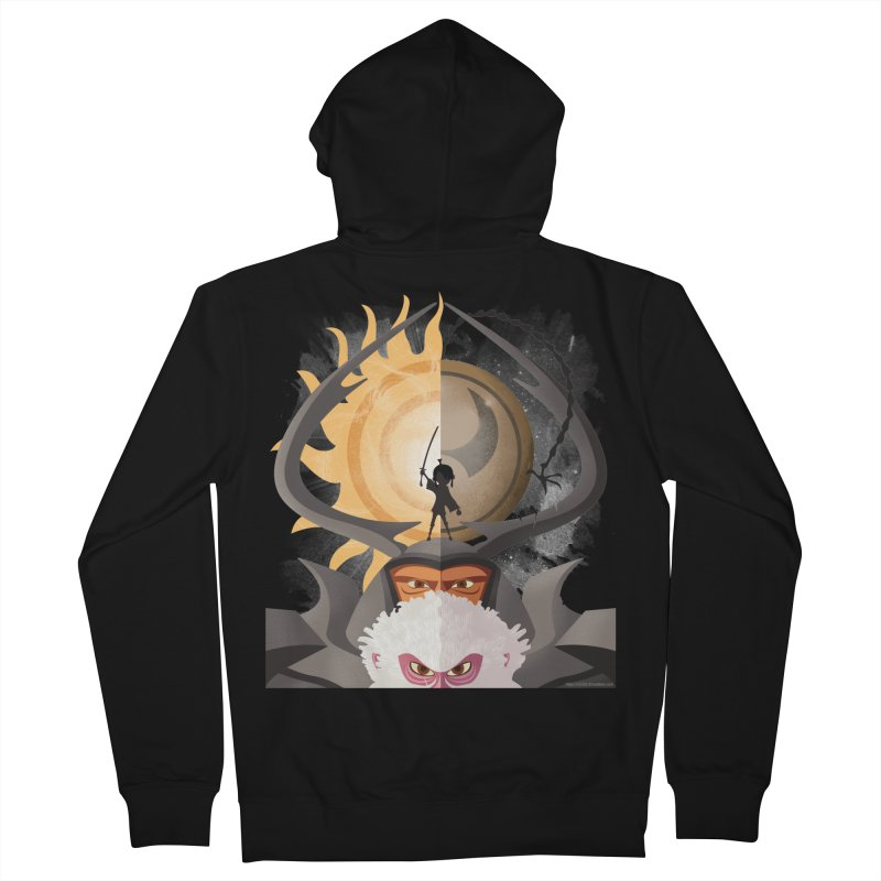 Kubo and The Quest Men's French Terry Zip-Up Hoody by Christi Kennedy