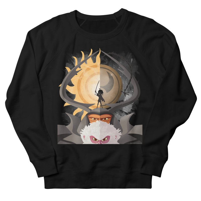 Kubo and The Quest Men's French Terry Sweatshirt by Christi Kennedy