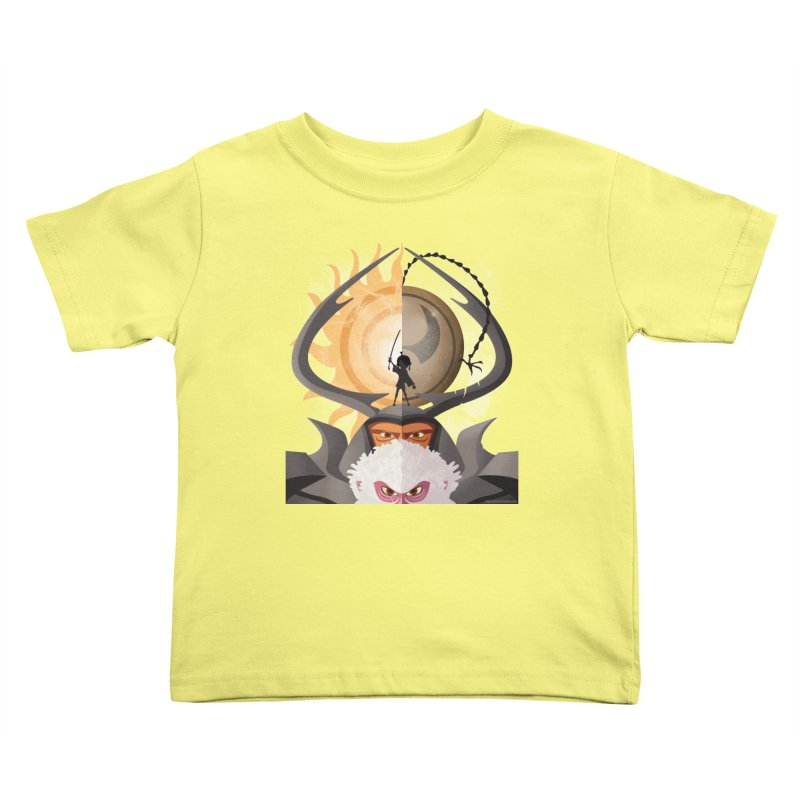 Kubo and The Quest Kids Toddler T-Shirt by Christi Kennedy