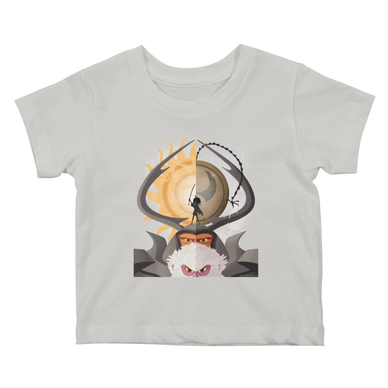 Kubo and The Quest Kids Baby T-Shirt by Christi Kennedy
