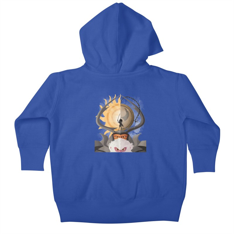 Kubo and The Quest Kids Baby Zip-Up Hoody by Christi Kennedy