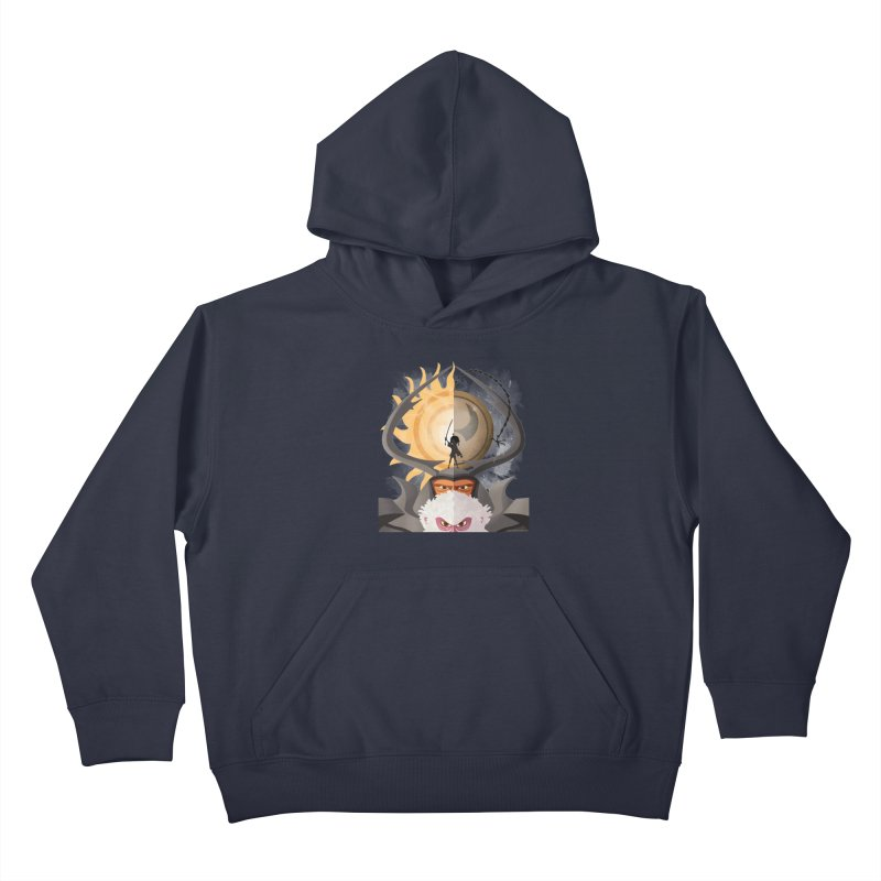 Kubo and The Quest Kids Pullover Hoody by Christi Kennedy
