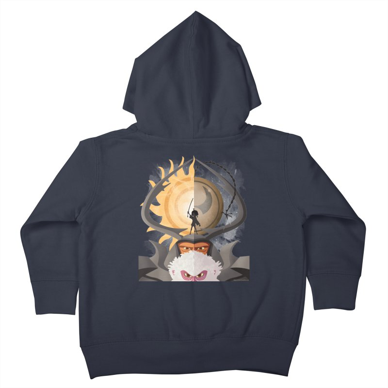 Kubo and The Quest Kids Toddler Zip-Up Hoody by Christi Kennedy