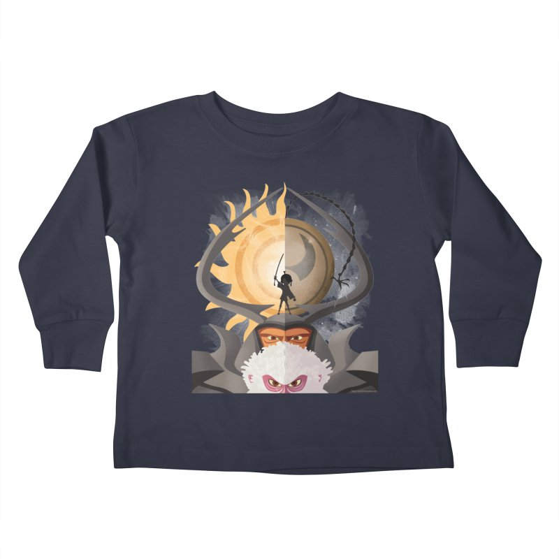 Kubo and The Quest Kids Toddler Longsleeve T-Shirt by Christi Kennedy