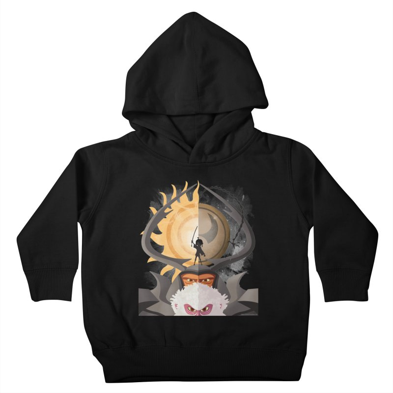 Kubo and The Quest Kids Toddler Pullover Hoody by Christi Kennedy