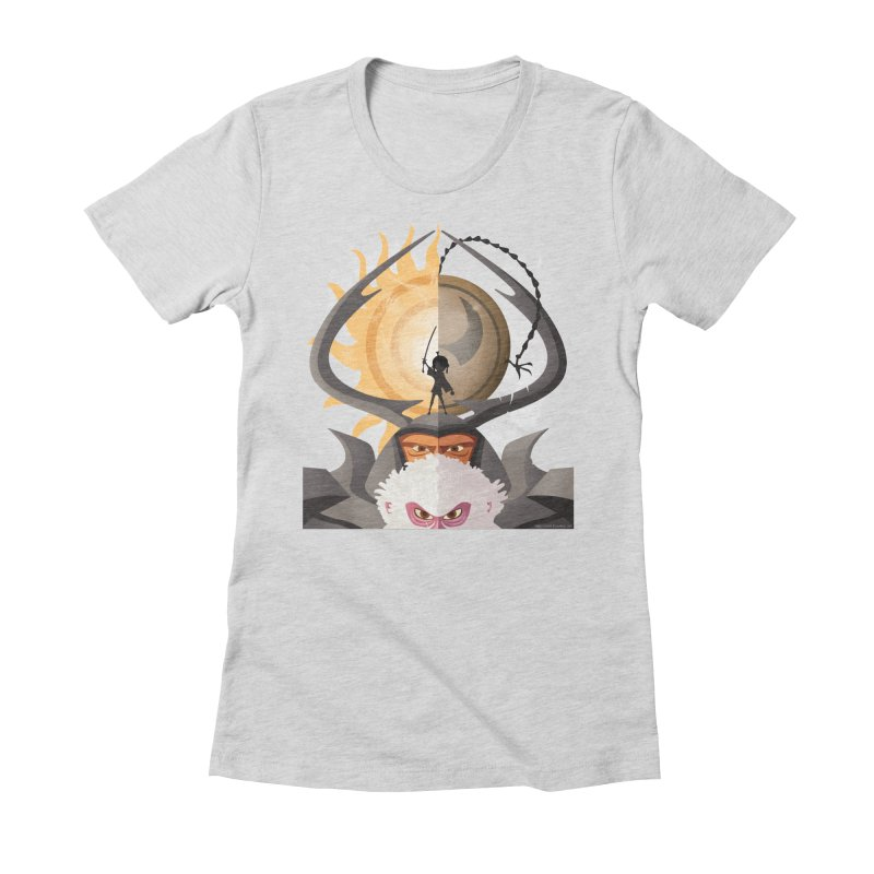 Kubo and The Quest Women's Fitted T-Shirt by Christi Kennedy
