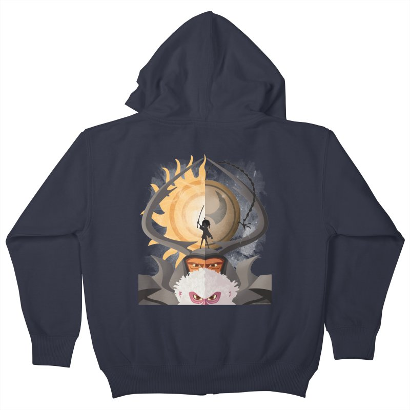 Kubo and The Quest Kids Zip-Up Hoody by Christi Kennedy