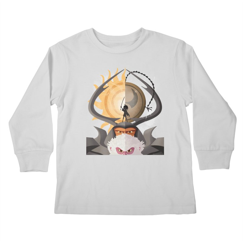 Kubo and The Quest Kids Longsleeve T-Shirt by Christi Kennedy