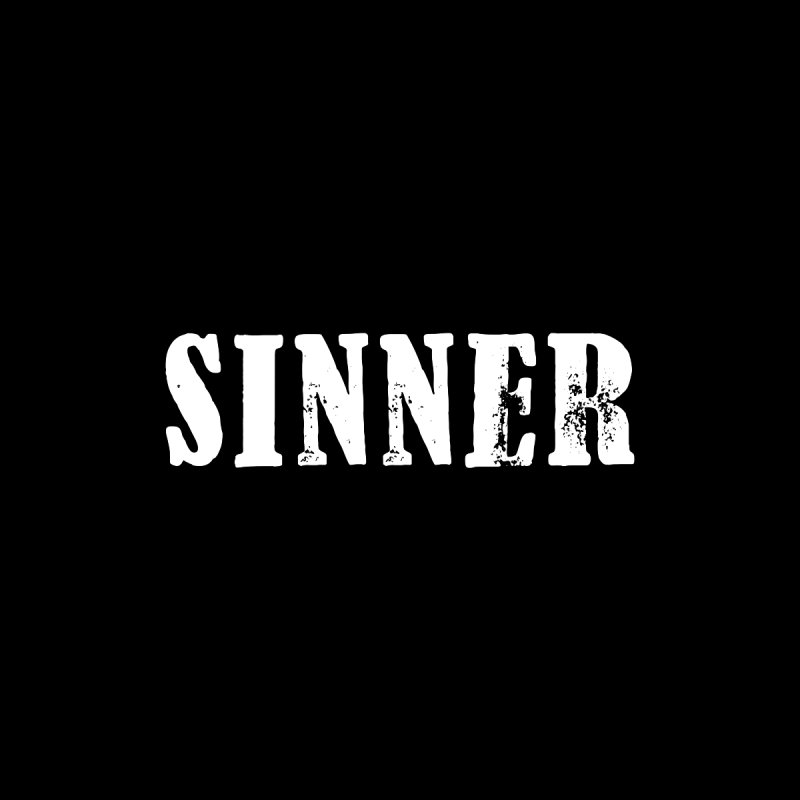 Sinner Tote by ChristianDeArmond's Artist Shop