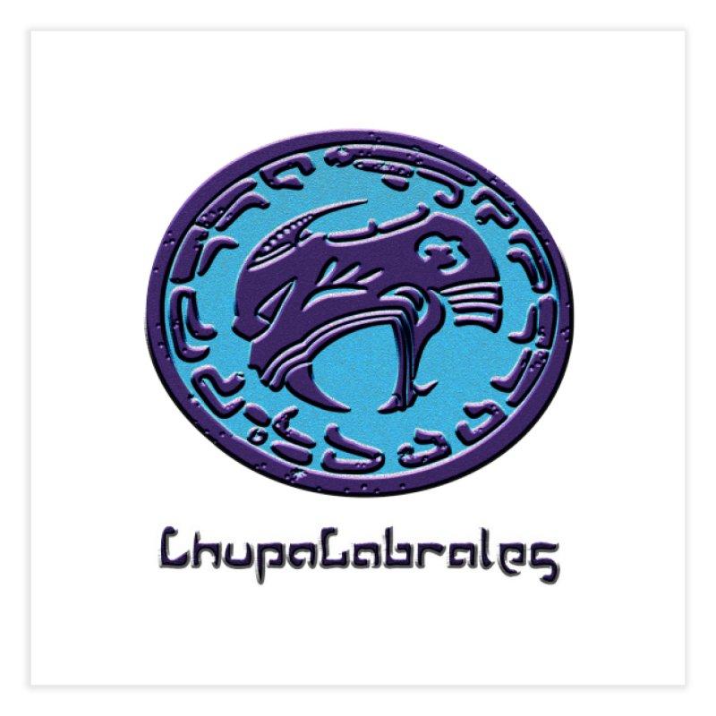 ChupaCabrales Logo (Aztech) Home Fine Art Print by ChupaCabrales's Shop