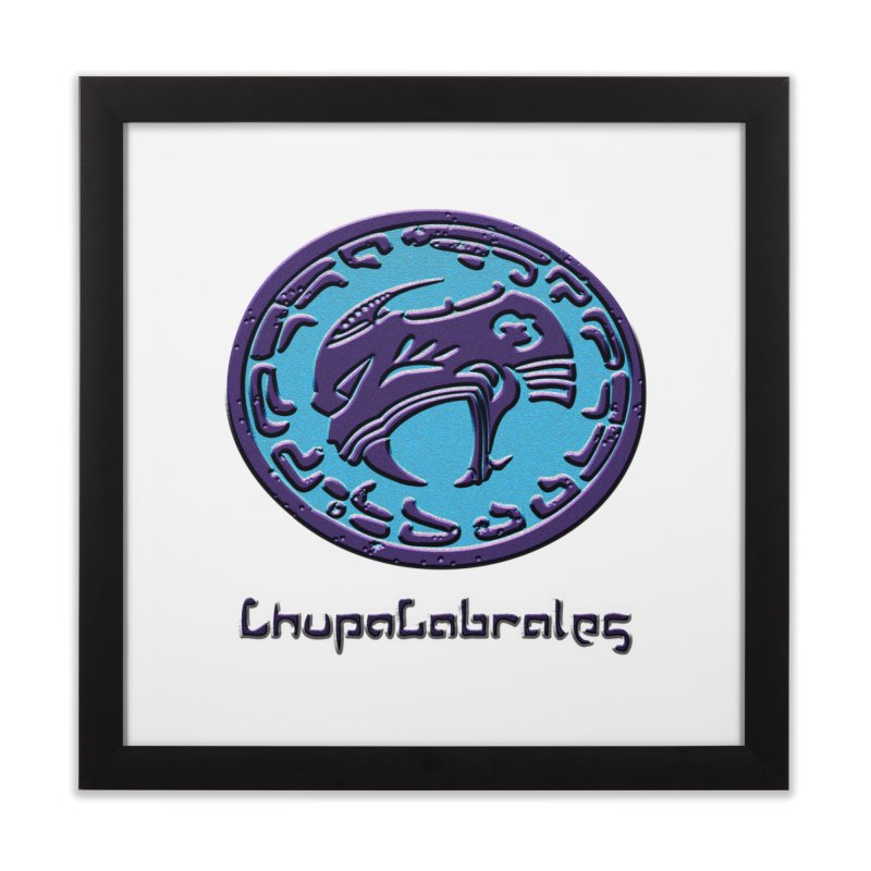 ChupaCabrales Logo (Aztech) Home Framed Fine Art Print by ChupaCabrales's Shop