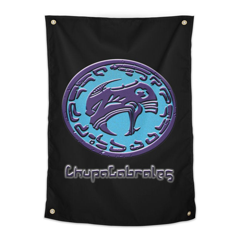 ChupaCabrales Logo (Aztech) Home Tapestry by ChupaCabrales's Shop