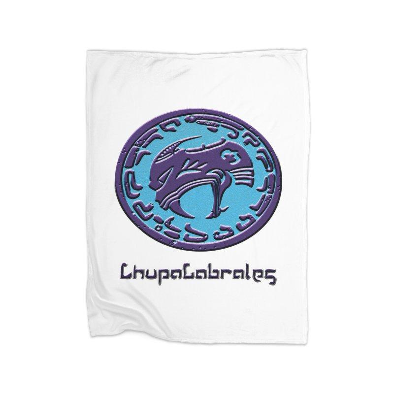 ChupaCabrales Logo (Aztech) Home Fleece Blanket Blanket by ChupaCabrales's Shop