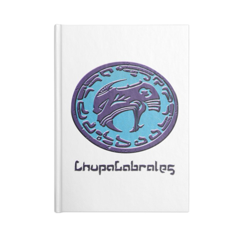 ChupaCabrales Logo (Aztech) Accessories Lined Journal Notebook by ChupaCabrales's Shop